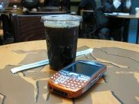 アイスコーヒーにはTreo680が似合う