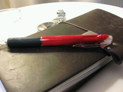 最近お気に入りの筆記具は